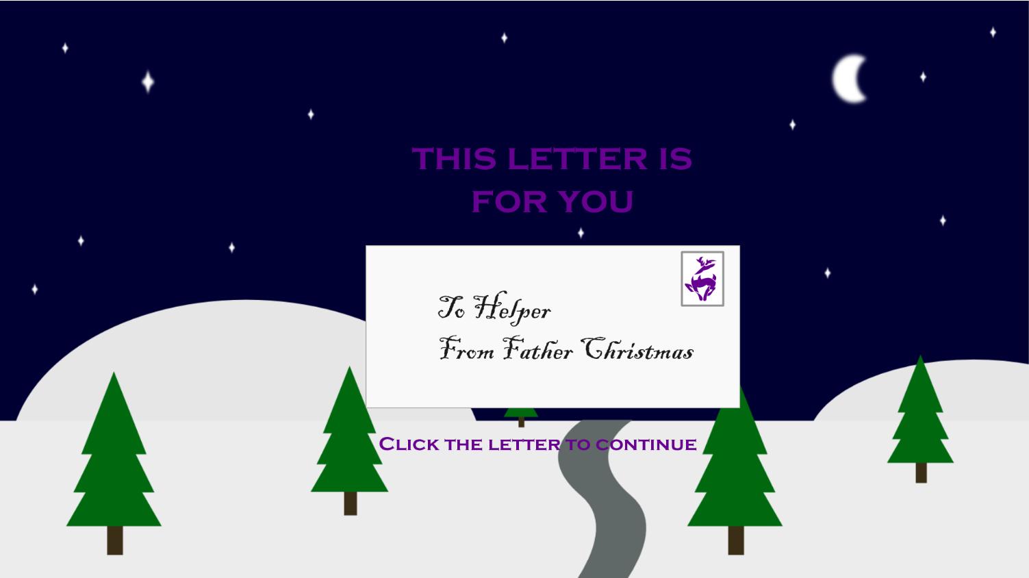 Interactive e-learning Christmas Card - White Hart Multimedia